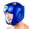 Шолом боксерський DX BWS відкритий розмір S синій BWXDX450-SB , фото 2