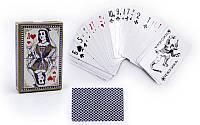 Игральные карты с ламинированным покрытием, колода в 54шт., толщина 0,4мм. (9819)