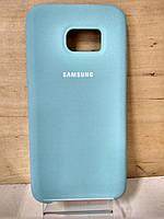 Силиконовый матовый чехол Soft Case Mint Samsung Galaxy S7 Edge (G935)