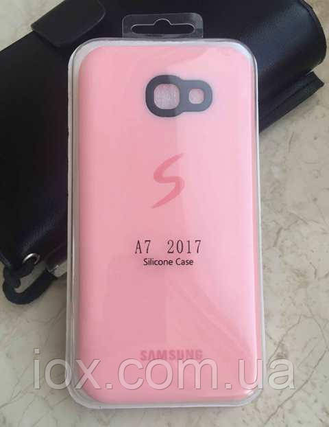 Матовий силіконовий чохол для Samsung Galaxy A7 (2017) A720