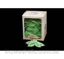 Вафельные лепестки зеленые 400 шт/упаковка