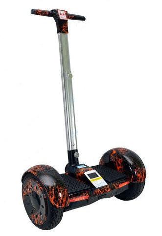 Гироскутер молния с ручкой Smart Balance A8 колеса 10.5