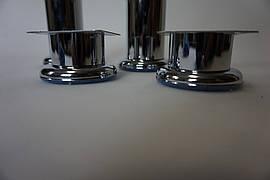 Ножка металлическая для мебели высота h-50 mm