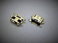Коннектор зарядки к телефону  Alcatel One Touch 4015 POP C1 Dual Sim, 5 pin, micro-USB  (7400122)