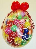Шар сюрприз на 40 шаров с оформлением
