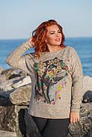 Женская туника серая Барс, фото 1