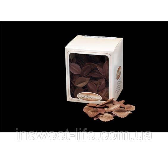 Вафельные лепестки перламутрово коричневые 400 шт/упаковка