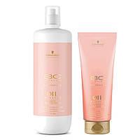 Шампунь для чувствительной кожи головы с маслом Дамасской розы bc Bonacure Oil Miracle Rose Oil-in-Shampoo Объём: 200 мл