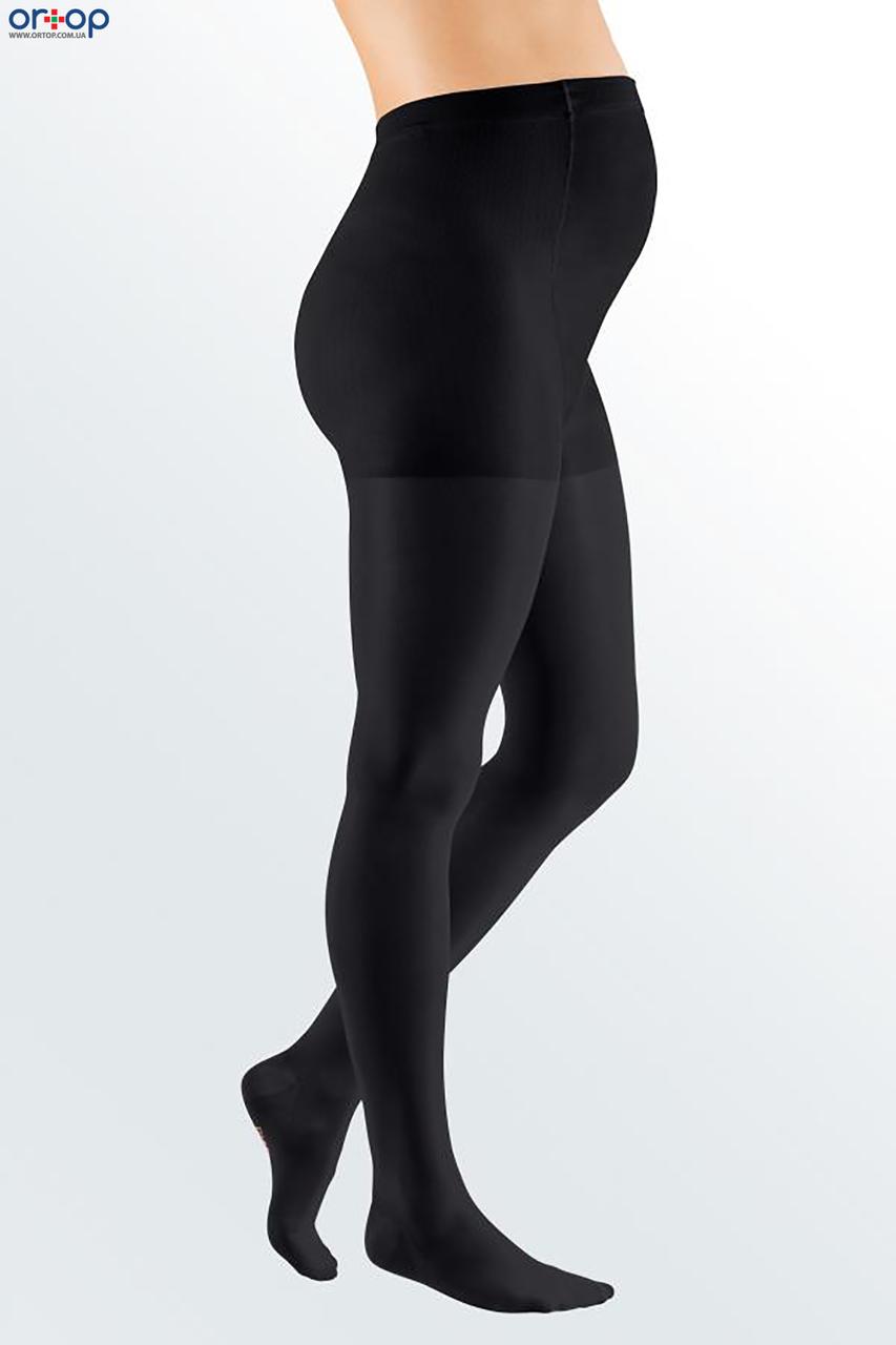 Колготки для беременных mediven ELEGANCE (AG-62-71 см), закрытый носок, 1 класс, цвет черный, размер 7