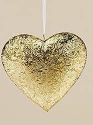 Подвесной декор золотой металл