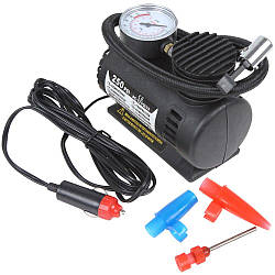Автомобильный компрессор 250 psi 10-12Amp 25л + насадки