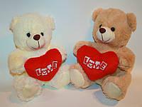 Медведь с сердцем 22 см