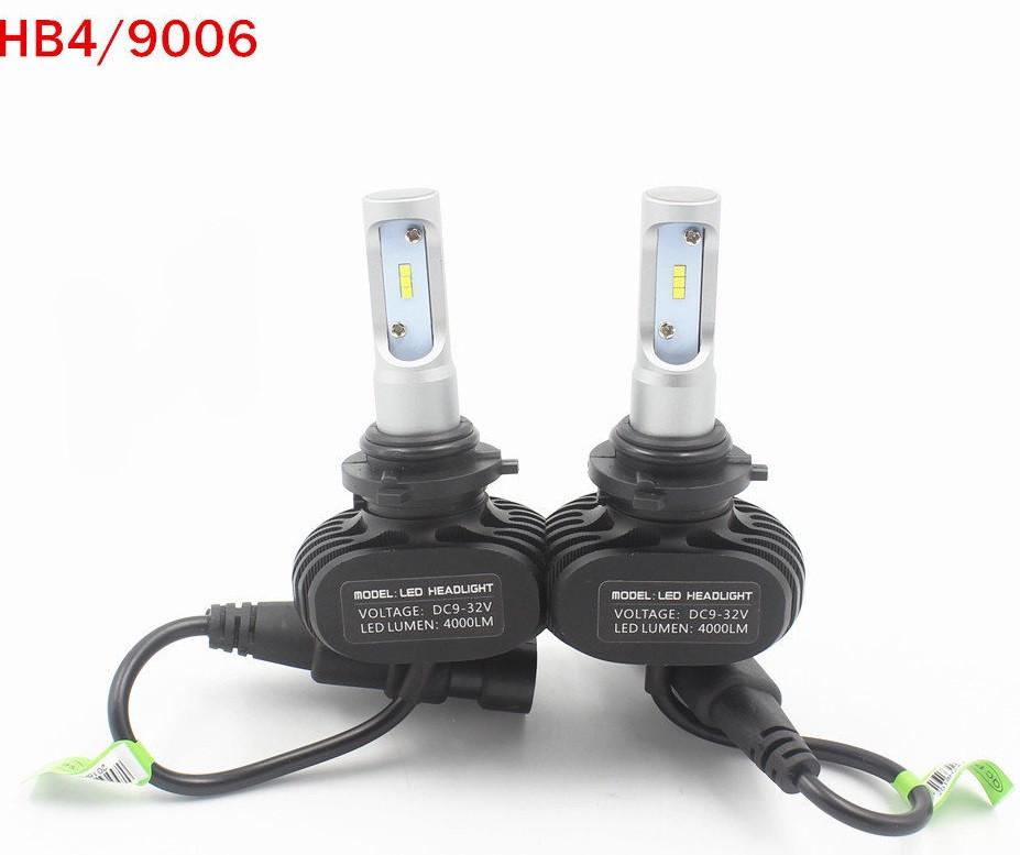Лампы PULSO S1/HB4-9006/LED-chips CPS/9-32v25w/4000Lm/6000K