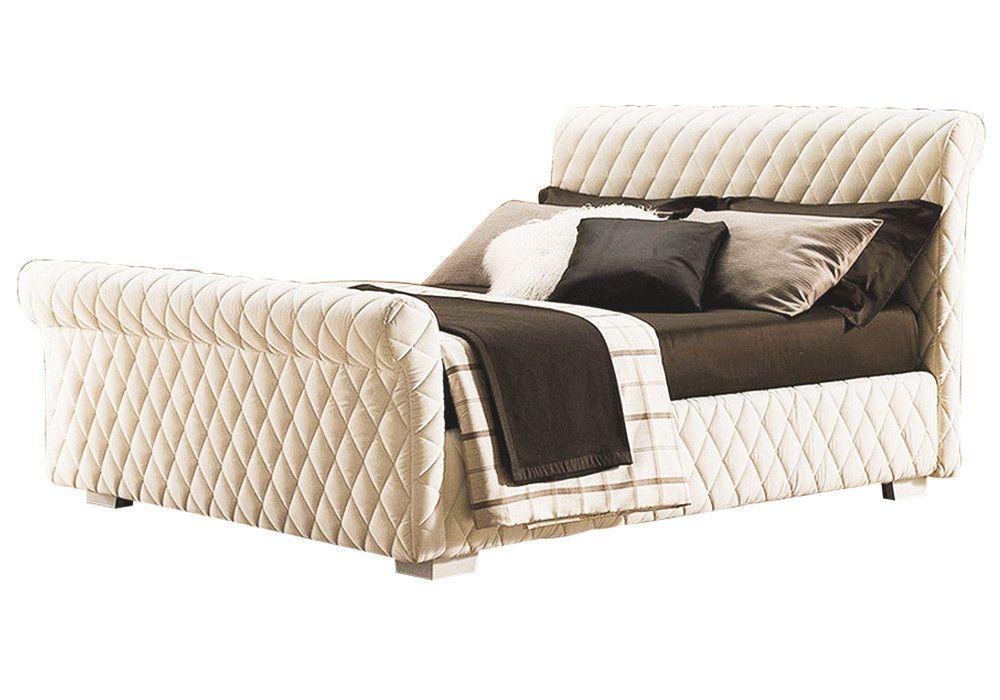 Ліжко з м'якою спинкою Агата (160 х 200) КІМ