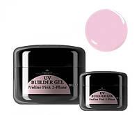 Строительный гель Naomi Uv Bulder Gel  Proline Pink 2-Phase Объем: 14 г