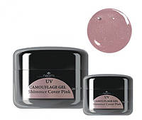 Камуфляжный гель Naomi Uv Camouflage Gel Shimmer Cover Pink Объем: 14 г