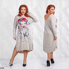 Платье женское демисезонное размеры:50-52,54-56, фото 2