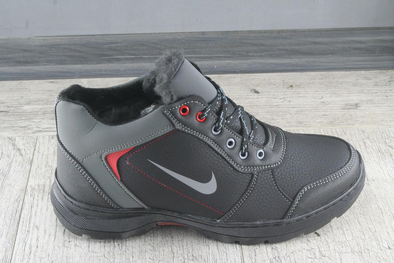 Ботинки мужские зимние Paolla, обувь теплая, повседневная, спортивный стиль