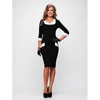 Женское стильное офисное платье , фото 1