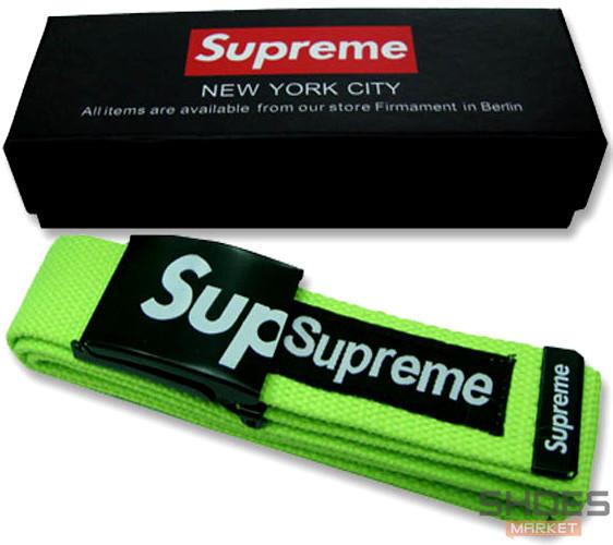 Ремень Supreme Green