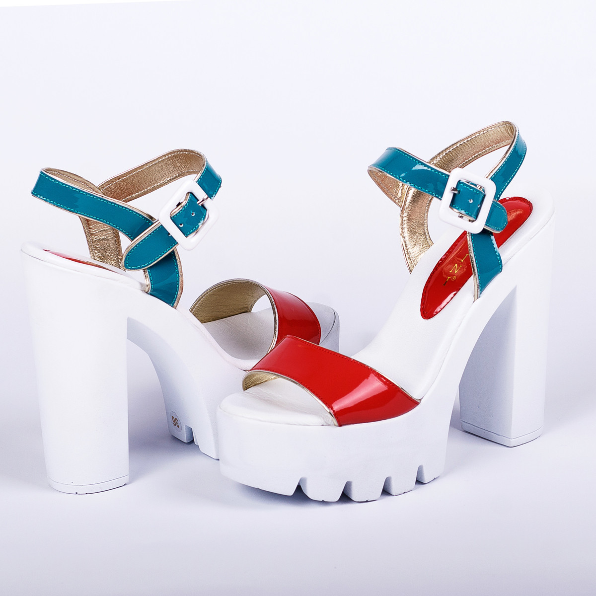 eef6fde5d Стильные босоножки на высоком каблуке Lottini - Интернет-магазин женской и  мужской обуви Krok в