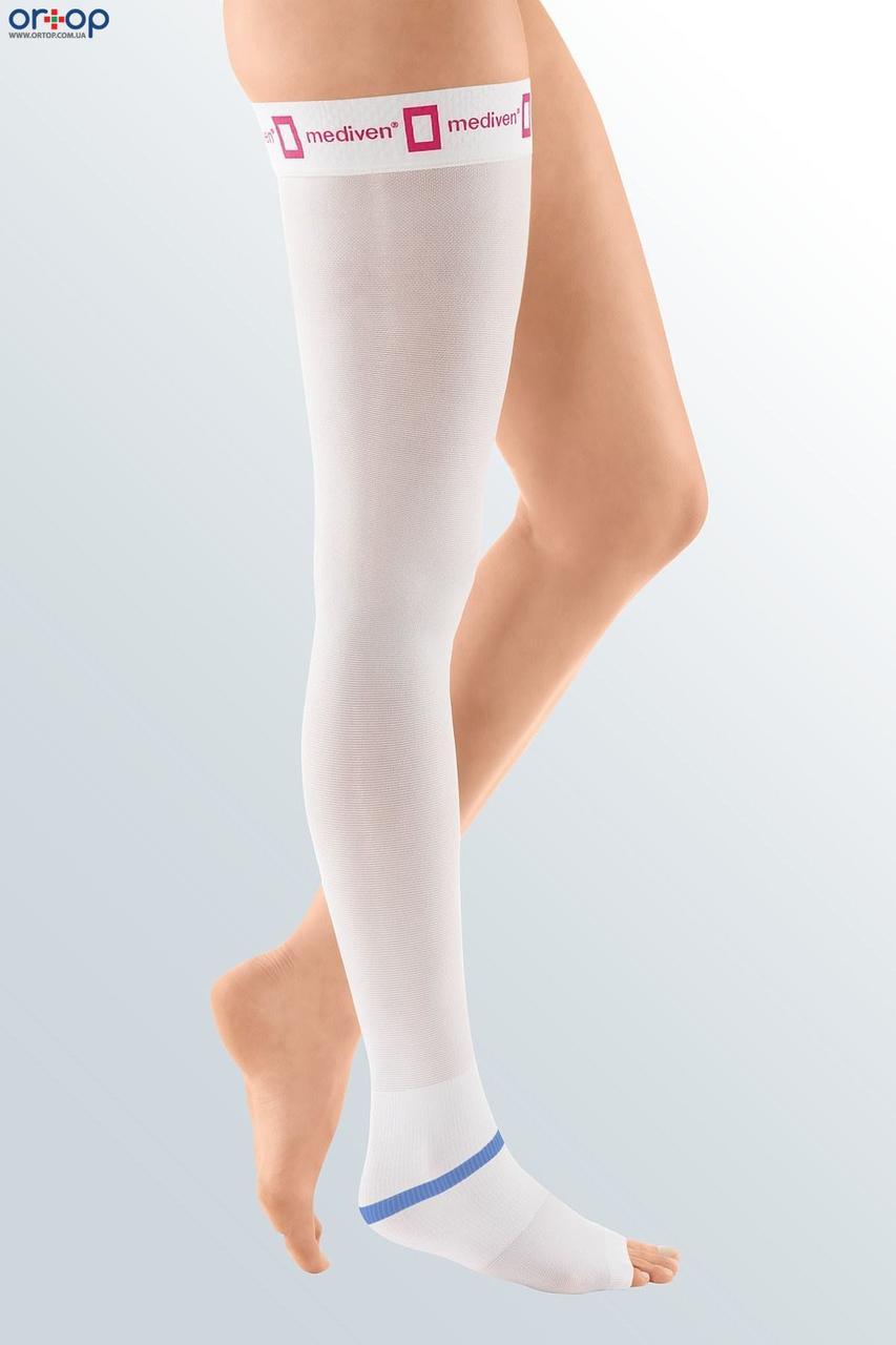 Чулок антиэмболический на силиконовой резинке mediven STRUVA 35 - белый, 1