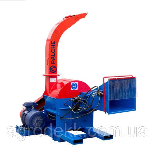 Подрібнювач деревини PL-260E\ Подрібнення деревини більше 260 мм