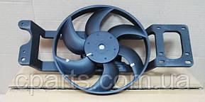 Вентилятор радиатора Dacia Solenza без А/С (Asam 30444)(среднее качество)