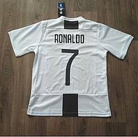 Детская Футбольная форма Ювентус Белая Ronaldo (Роналдо) сезон 2018-2019