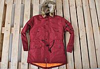 Зимняя курточка красная