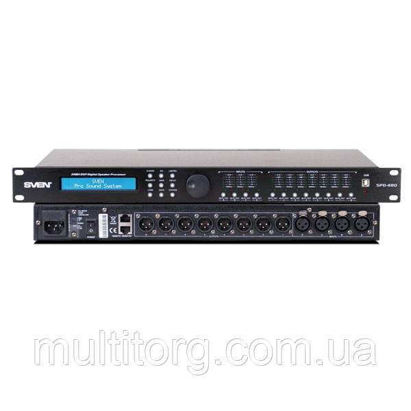 Цифровий процесор SVEN SPD-480 (РОЗПРОДАЖ)