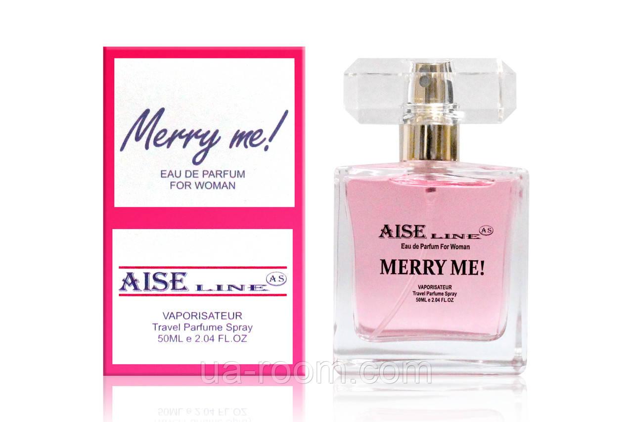 """Женский, Парфюмированный спрей Aise Line """"Merry me"""" (аналог Lanvine Marry me), 50 мл."""