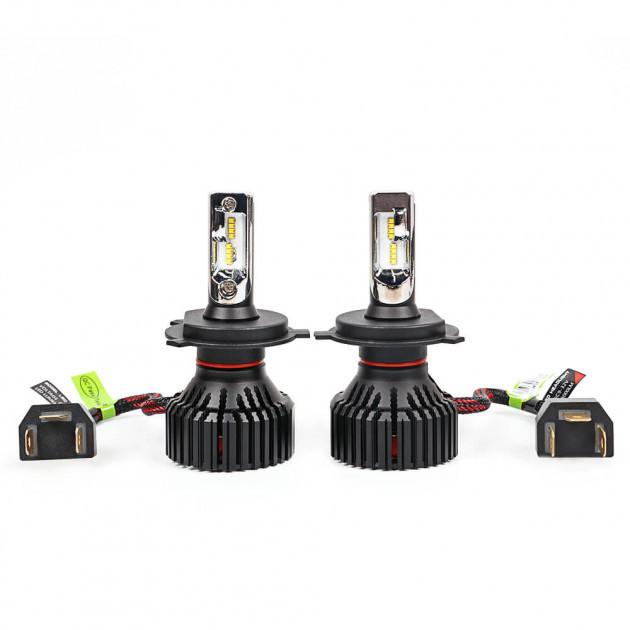 Лампы PULSO T8/H4-H/L/LED-chips CREE-XHP50/9-32v/30w/8000Lm/6000K