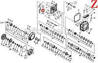 Кольцо A12x16 БДС 3609-73 208777 Балканкар ДВ1792