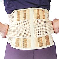 Корсет ортопедический средней фиксации с 6-ю ребрами жесткости EB-510, S
