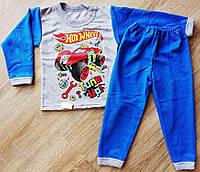Пижама теплая для мальчика Хот Вилс HOT WHEELS