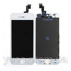 Дисплей для APPLE iPhone 5S с белым тачскрином high copy