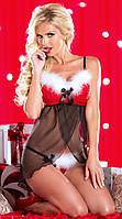 Пеньюар «Happy New Year» / Эротическое белье / Сексуальное белье / Еротична сексуальна білизна, фото 1