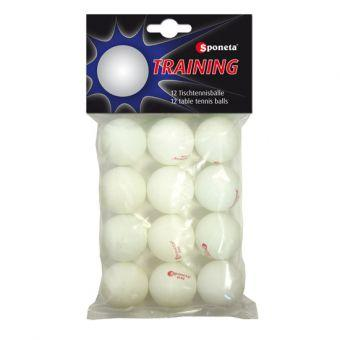 Мячики для настольного тенниса Sponeta PRACTICE (12 шт)