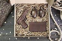 """Шоколадный набор """"Настоящему мужчине"""". Оригинальный подарок парню, фото 1"""