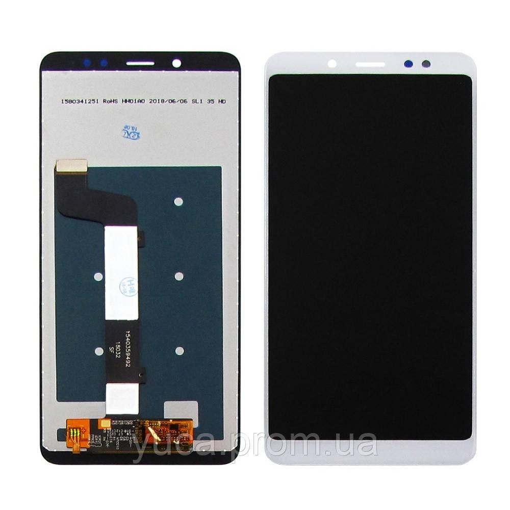 Дисплей для XIAOMI Redmi Note 5/Note 5 Pro с белым тачскрином