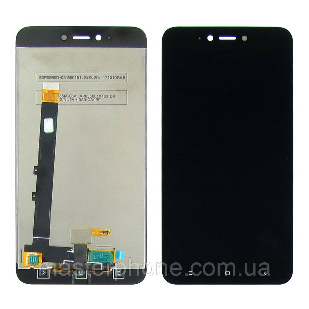 Дисплей для XIAOMI Redmi Note 5A Lite с чёрным тачскрином