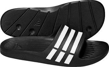 Adidas Сланці Duramo Slide чорний, фото 2
