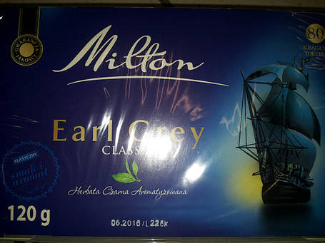 Чай черный MILTON CLASSIK(80 пак.) , фото 2
