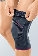 Функциональный коленный бандаж Genumedi PT - серый левый, 1, фото 1