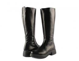 Сапоги кожаные Mariani A646/01 37 Кожа/чорный
