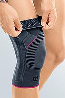 Функциональный коленный бандаж Genumedi PT - серый правый, 1, фото 1