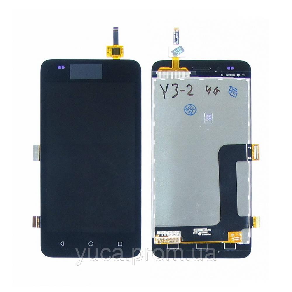 Дисплей для HUAWEI Y3 II (4G) с чёрным тачскрином