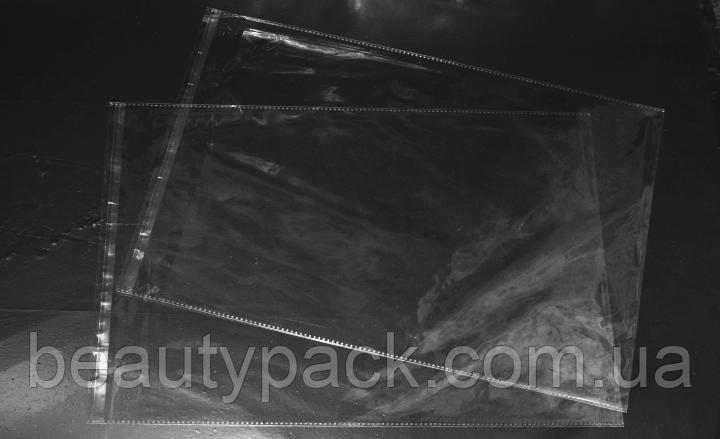Поліпропіленові пакети з клапаном 26 х37 см / уп-100шт 30МкМ