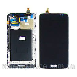 Дисплей для LG D680/D682 G Pro Lite с чёрным тачскрином